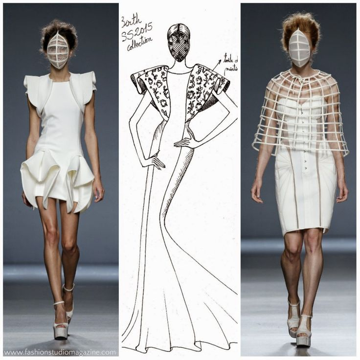 24 Best Images About 3d Sculptural Fashion Design On
