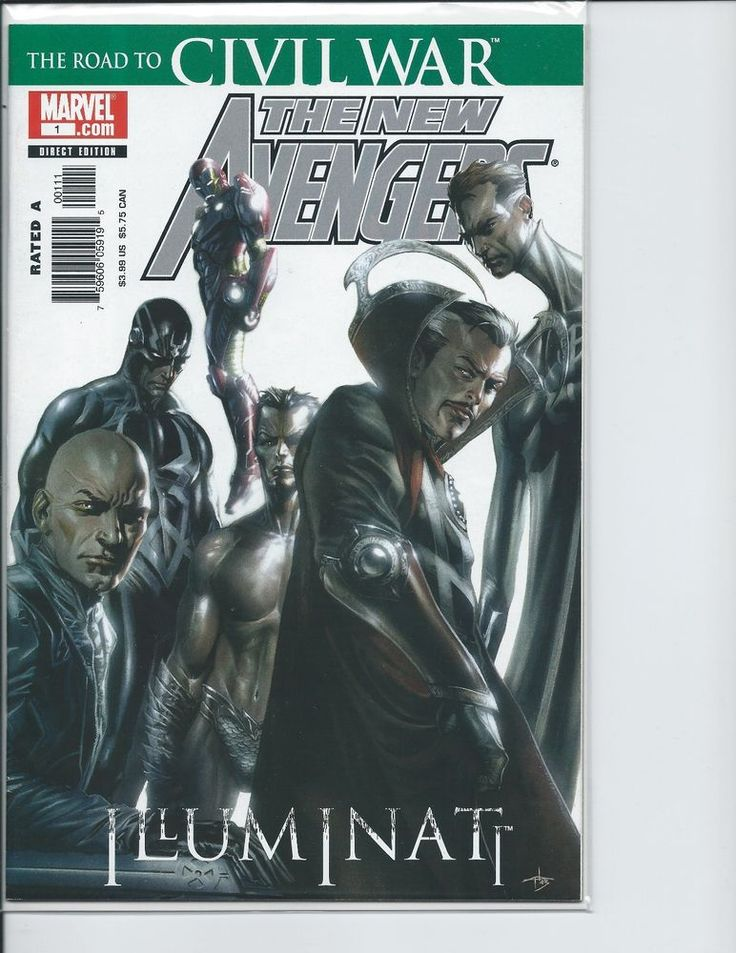 1st print The New Avengers Illuminati Special (Bendis & Maleev) VF  | eBay