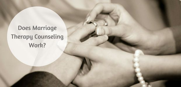 Does Marriage Therapy Counseling Work?