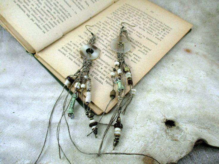 earrings with vintage resistor tesla steampunk earrings by boele
