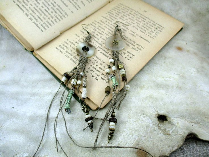 earrings with vintage resistor tesla steampunk earrings by boele