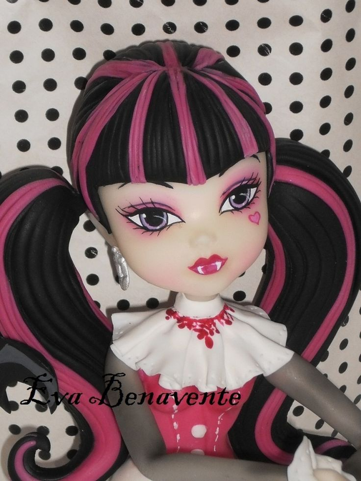 Monster High Dracul Top Cake