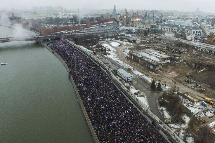 ''Heroes never die!': Russians honor opposition leader Boris Nemtsov in massive rally  http://mashable.com/2015/03/01/boris-nemtsov-memorial-gallery/  http://www.pbs.org/newshour/rundown/afraid-mass-rally-held-moscow-remember-nemtsov/  http://www.bbc.co.uk/news/world-europe-31674035