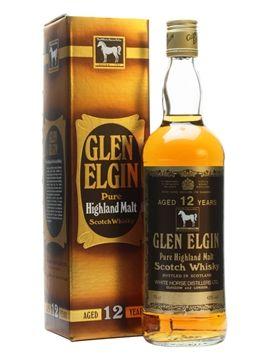 Glen Elgin 12 Year OldBot.1980s