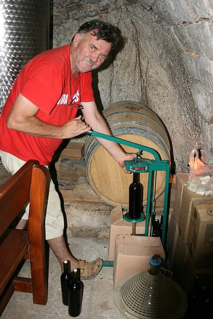 Buying wine? Watch as the bottle is filled and sealed by hand right in front of you!