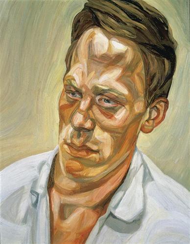 A Painter - Lucian Freud