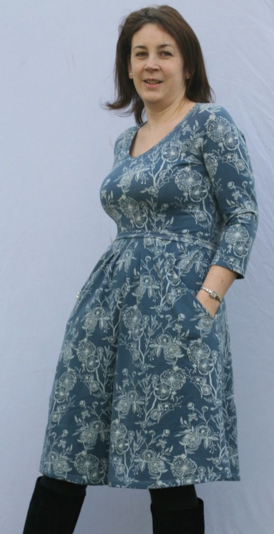 Zadie dress review by Dotty Owl - sewing pattern by Tilly and the Buttons