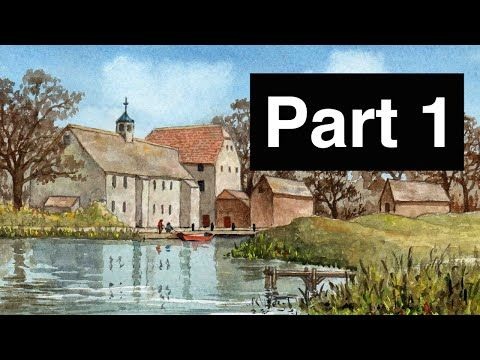 How to Paint with Watercolour - Part 1 - YouTube