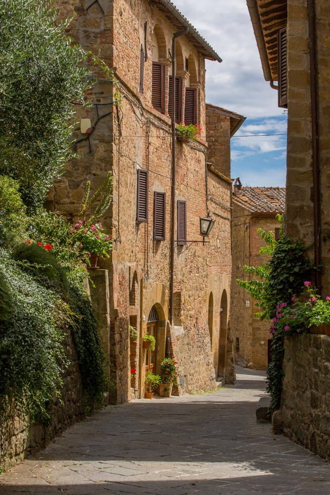 Monticchiello (Siena), Tuscany, Italy