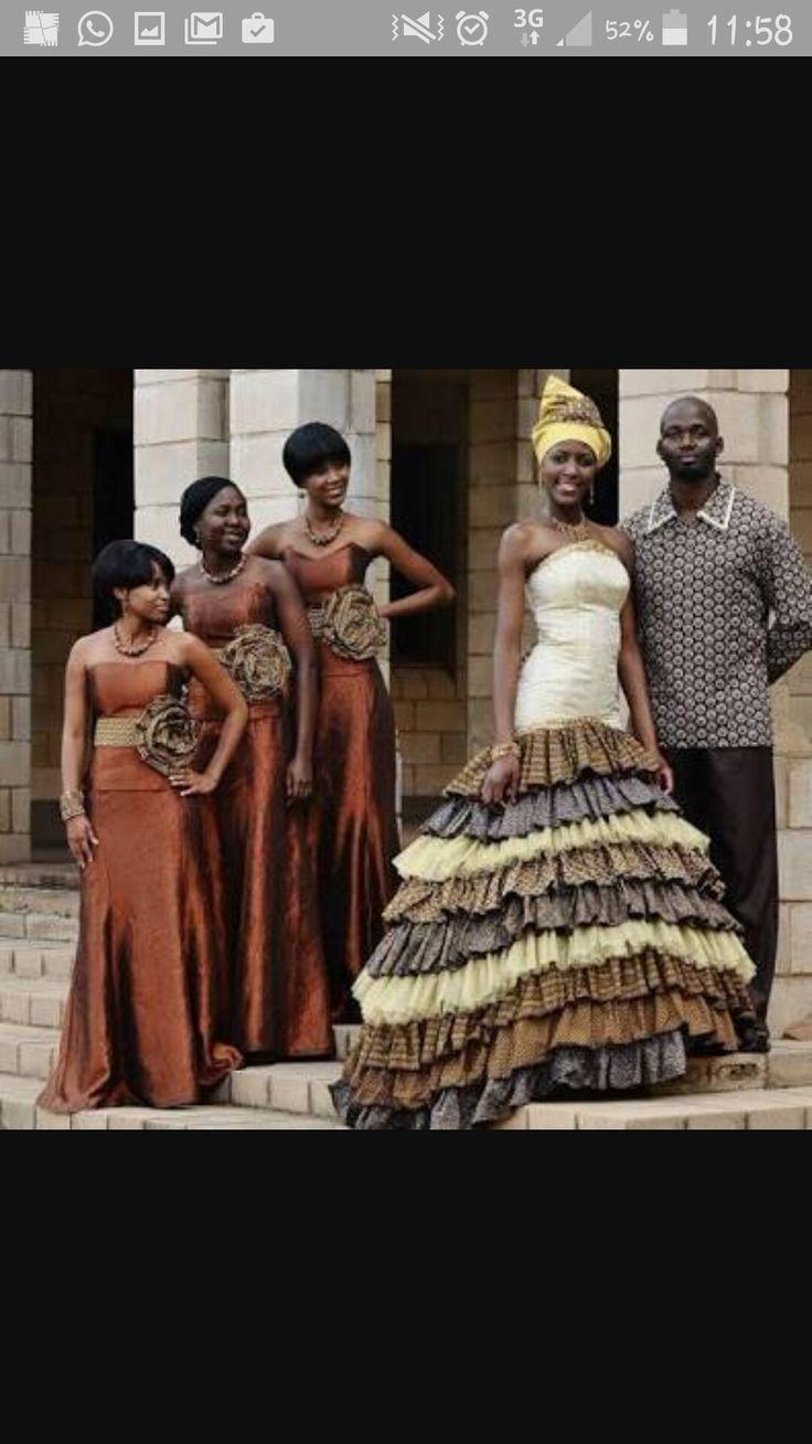 Cotour tswana bride