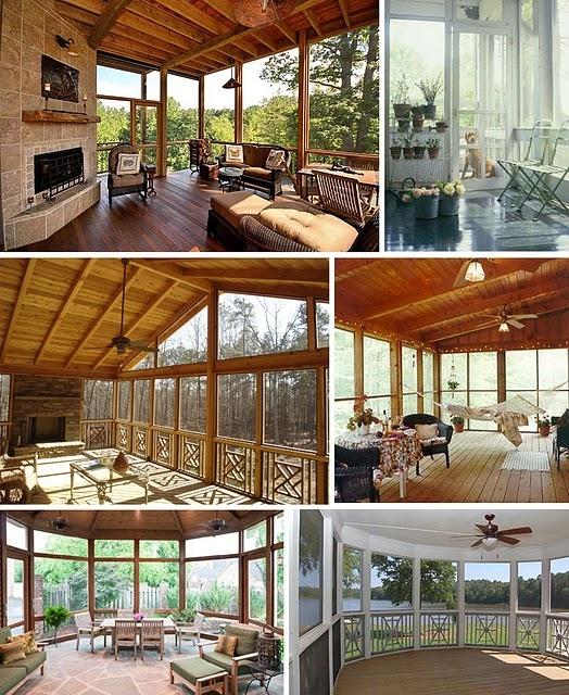 Creative Screened Porch Design Ideas: 151 Best Dream Backyard :) Images On Pinterest