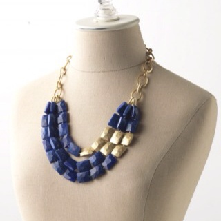 The Bahari is stunning with a plain tee or printed top and it a great statement necklace! Get it at half off when you host a trunk show with me! Email me at acam1009@gmail.com  http://www.stelladot.com/sites/AnnaFranck  $98