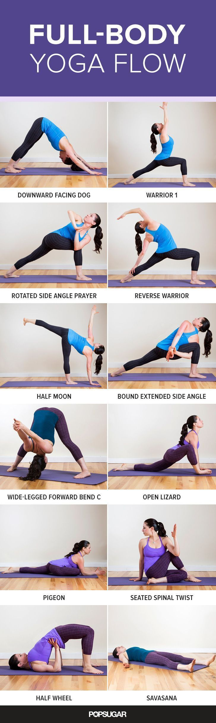 Use These Pinterest Workouts for Your Next Home-Based Routine: Full-Body Yoga…