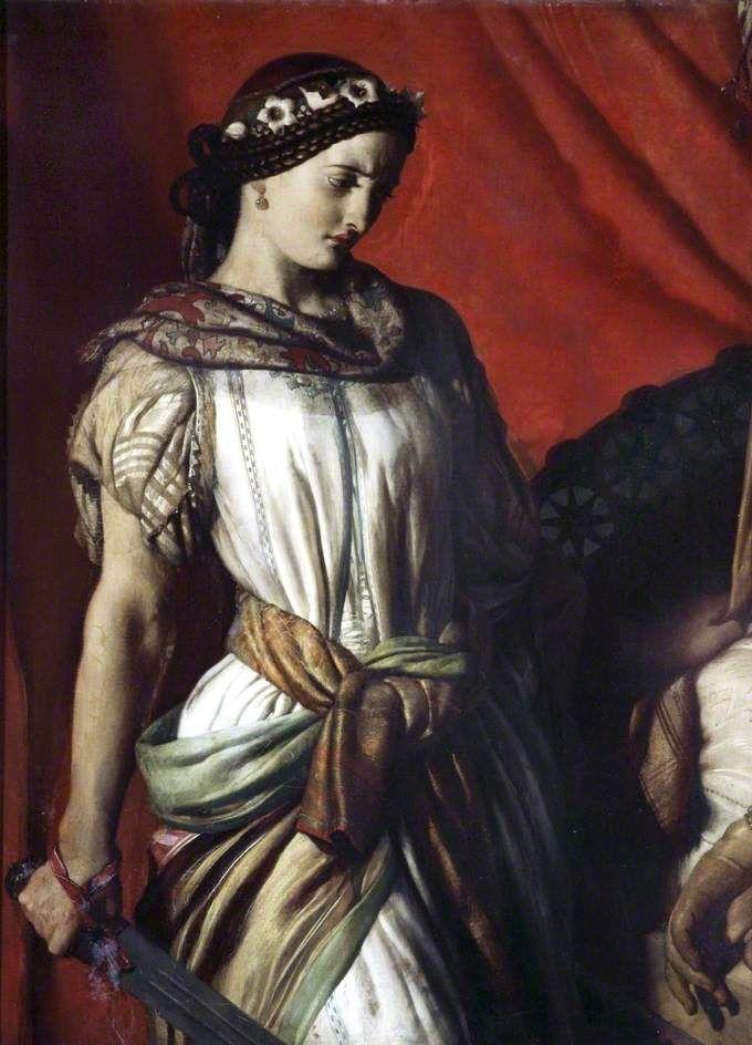 """Judith and Holofernes"" (1863) John Rogers Herbert"