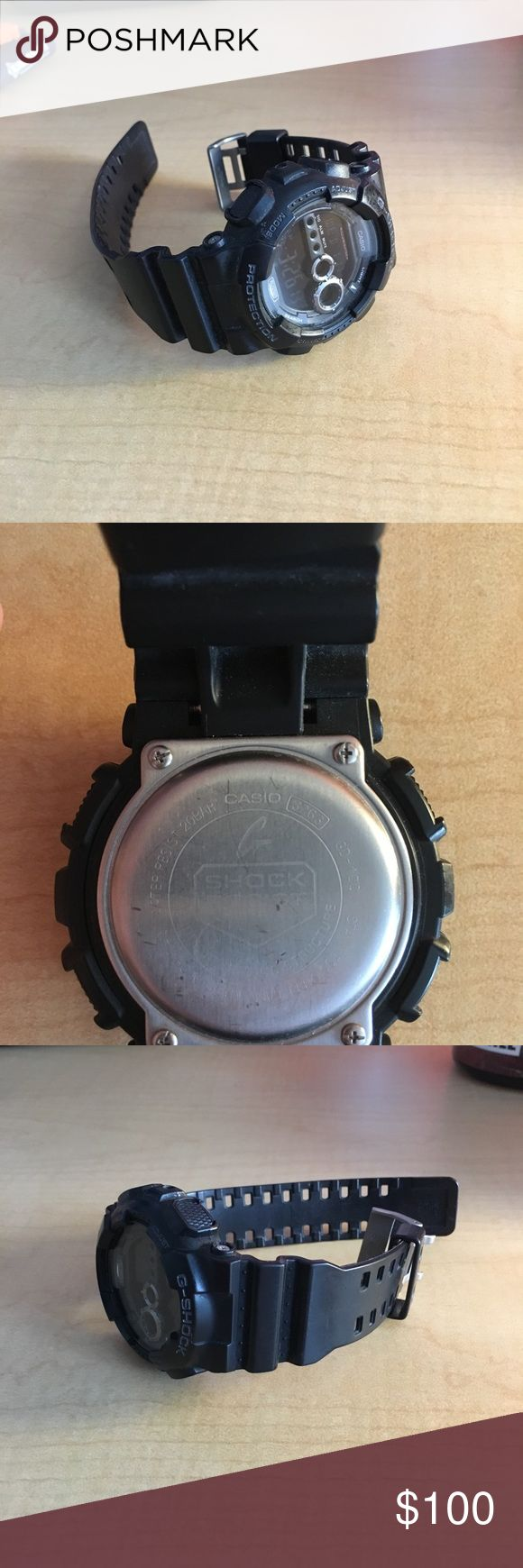 Casio G-Shock Selling my G-Shock watch. Watch has been worn but still In great shape. G-Shocks are just about indestructible and it is a great watch! Open to offers. Casio Accessories Watches