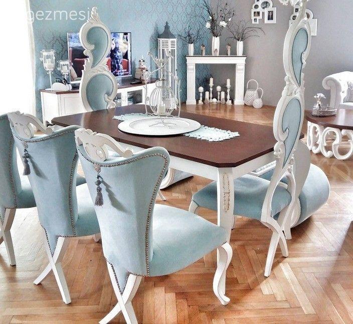 Yemek Odası, Mavi