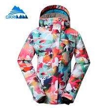 US $103.67 Colorful Winter Sonw Water Resistant Chaquetas Mujer Warm Outdoor Sport Windstopper Ski Jacket Women Snowboarding Padded Coat. Aliexpress product