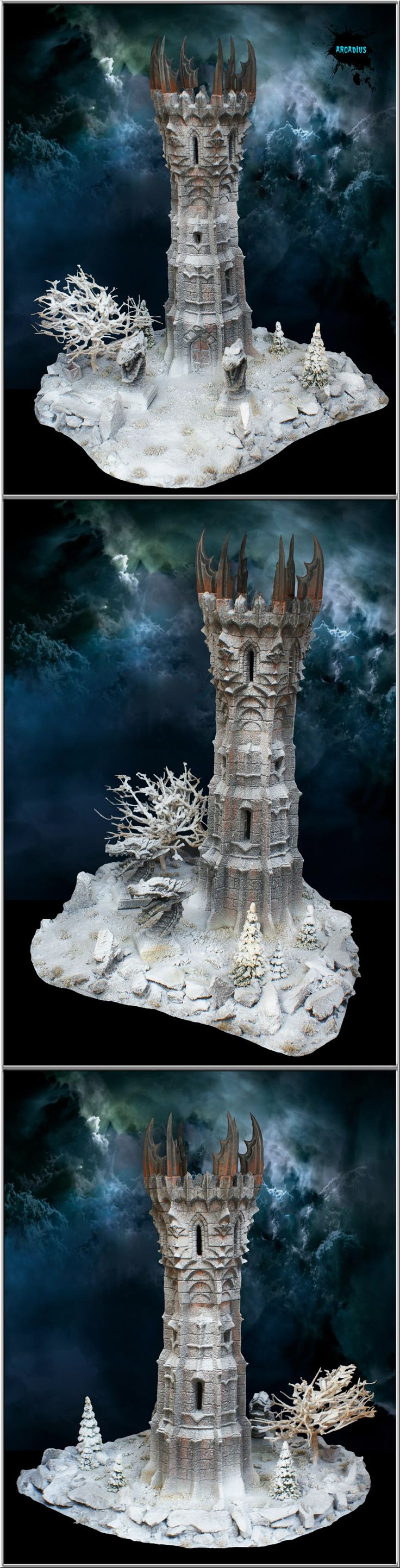 CHAOS  TOWER OF WINTER