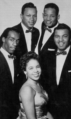 The Platters. Undoubtedly the best lead singer of all time - Tony Williams