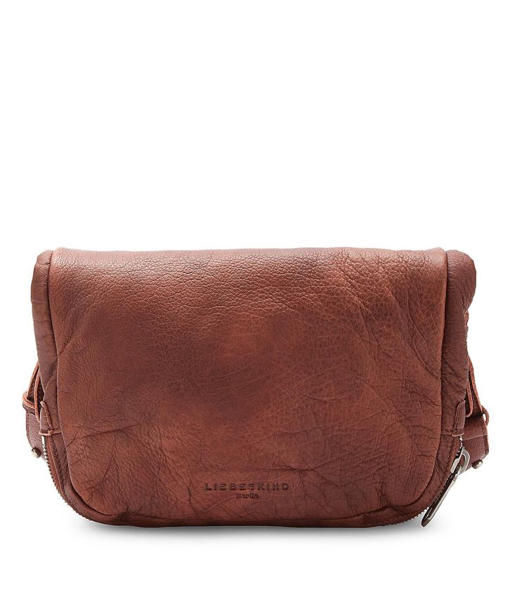 Product Description: Liebeskind Double Dyed bags are cool vintage bags that have been dyed twice. The bags feature rustic, soft leather. The Suzuka is a new Liebeskind style. The Suzuka cross-body bag