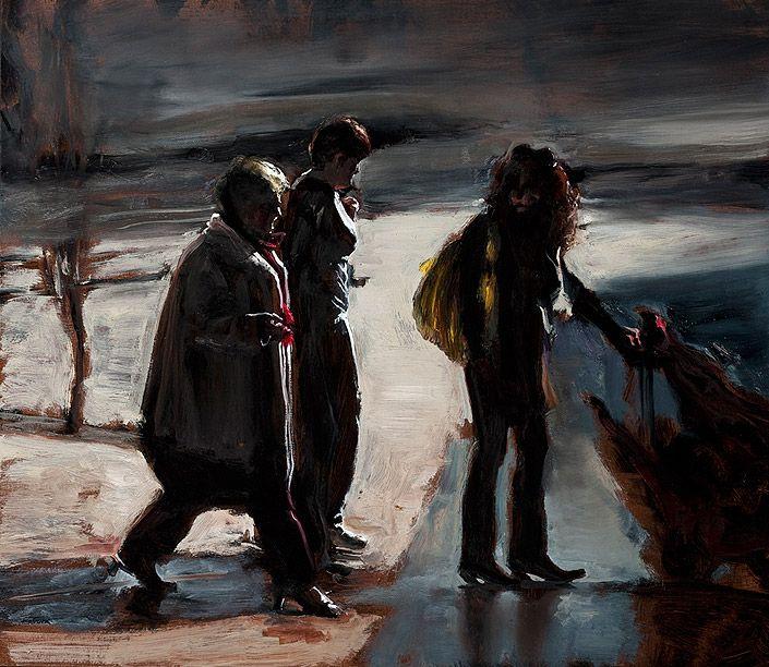 Louise Hearman Untitled #1330, 2011 oil on masonite 61 × 70cm