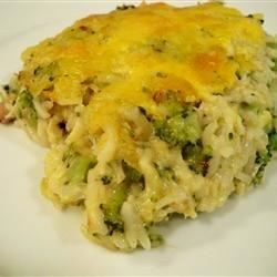 A creamy side dish that is baked in a delicious cheese sauce. This is the best broccoli rice casserole you will ever eat!