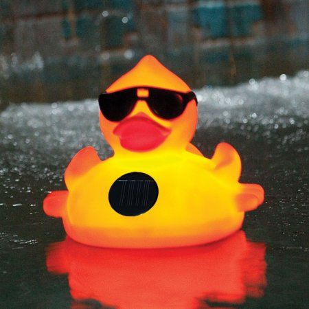 Game Derby Duck Swimming Pool Chlorinator, Yellow