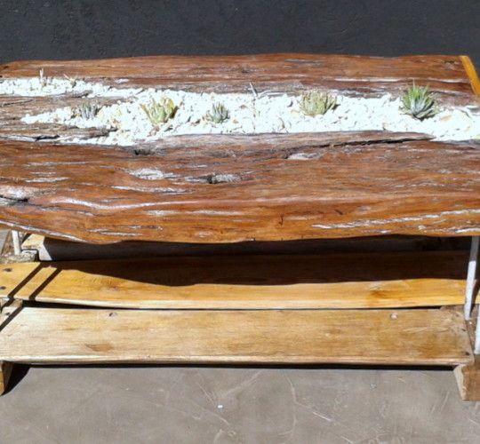 Driftwood Sleeper Table - Living