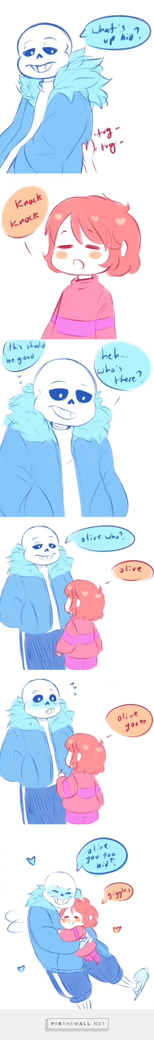 sans and Frisk - comic <= endless screaming at the cuteness =^^=