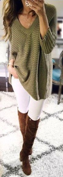 Damenhosen – #womenspants – #fall #outfits Weiß geschnittene Damenjeans Damen Casual Cargo-Hosen Military Combat Leggings Jogginghose mit Bleistift ….