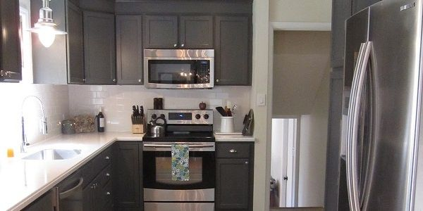 Template For A Dark Gray Kitchen Use Sealskin Gray Or