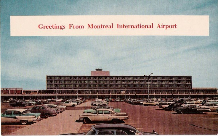 Dorval Airport - Flew in and out of here many times!
