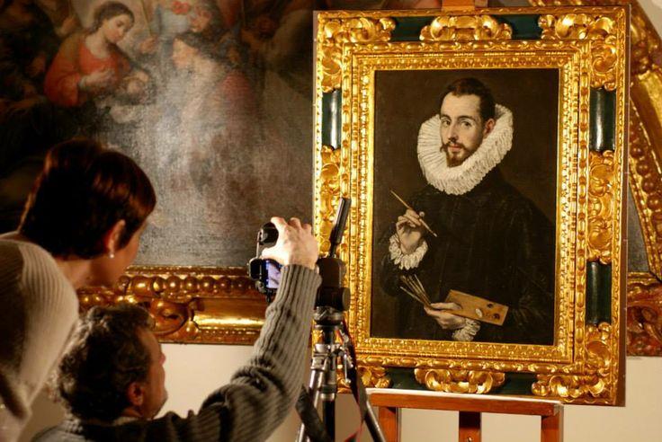 """Nuestro Greco se va a Toledo para la Exposición """"El griego de Toledo"""" por el IV Centenario de El Greco"""