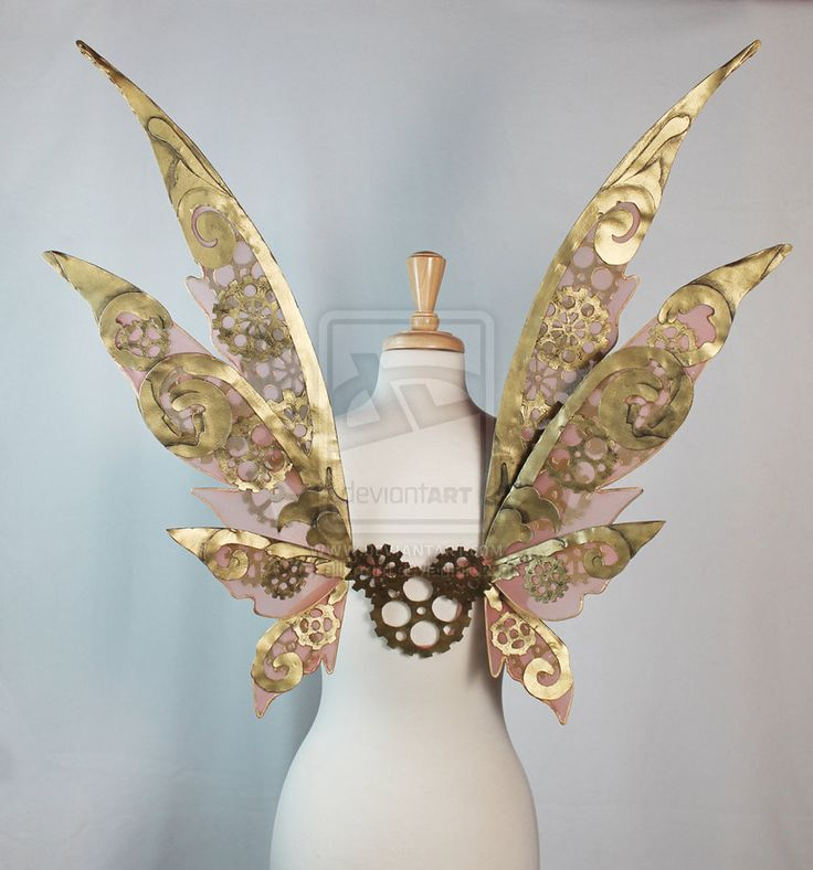 Steamfae (Steampunk) Wings by ~glittrrgrrl on deviantART