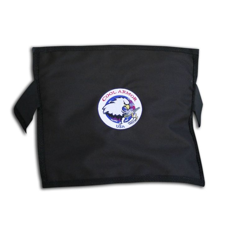 Glacier Tek Cool Armor - Black, Includes GlacierPack (GSA, Quantico/FBI Approved)