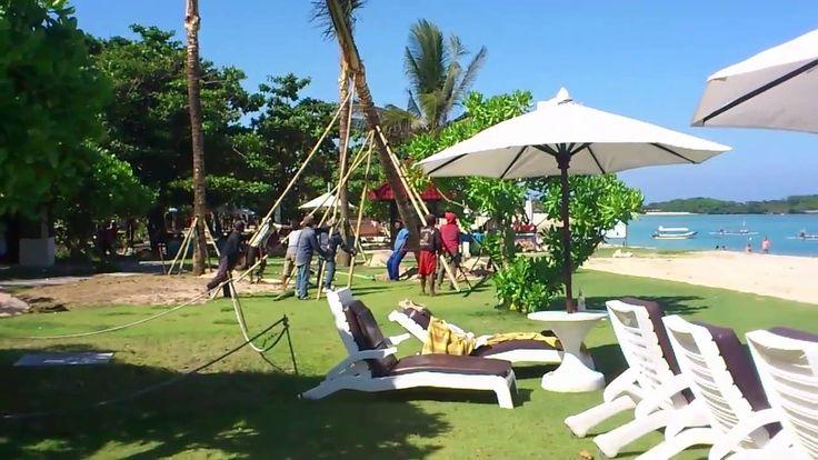 Пальму на о. Бали сломал тропический ливень