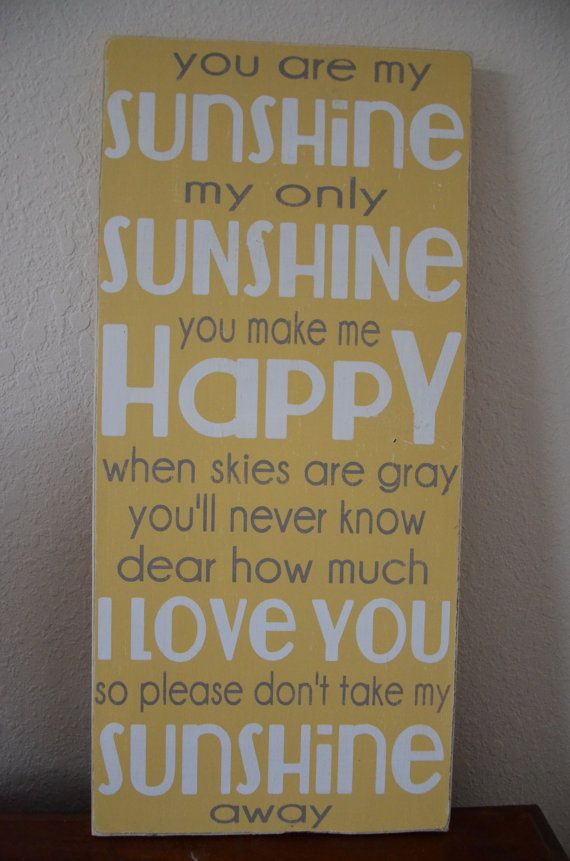 You Are My Sunshine Wall Art 142 best you are my sunshine…. images on pinterest | my sunshine
