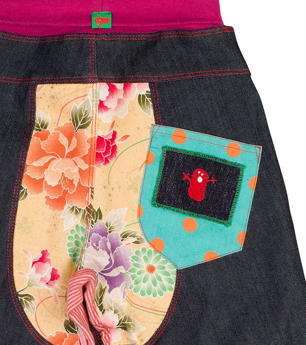 Product Oishi-m Made Harem JeanProduct code GPH006B
