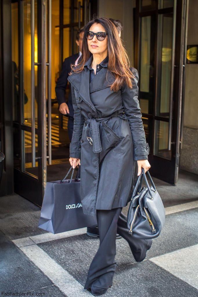 тем, черное пальто куртку и брюки фото нам