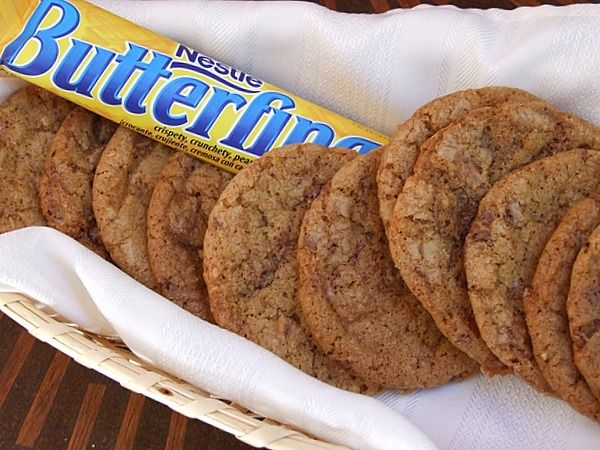 Butterfinger Cookies, such an easy recipe!