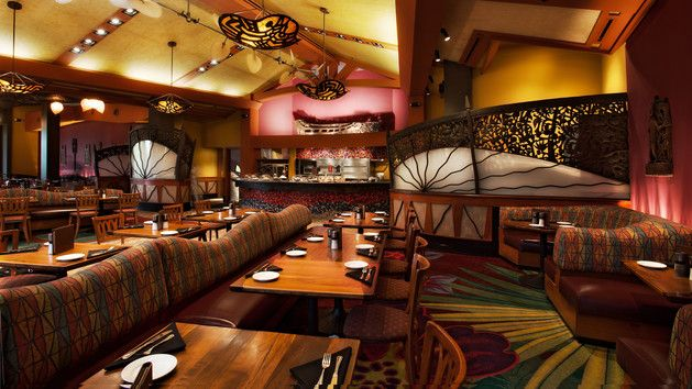 The Kona Café at the Polynesian (you can take any disney transportation there if you're not sure how to get there!) serves up delicious foods and is a beautiful restuarant!