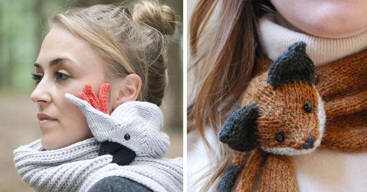 20+ Brilliant Winter Scarves That Will Keep You Warm And Cool | Bored Panda