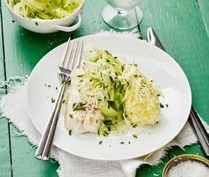 Recept: Torsk med fänkålssallad och pepparrotsstomp