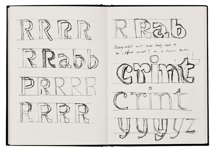 Sketches by Jeremy Tankard for his new type family Fenland.Types Nerderi, Jeremy Tankard, Types Families, Families Fenland, Fenland Typeface