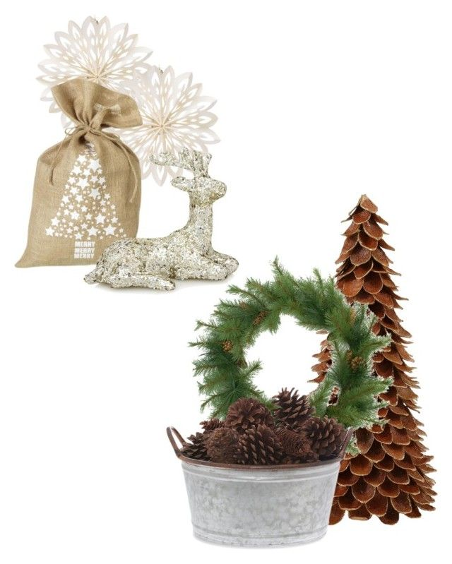 """""""Christmas inspiration"""" by amandaahlm on Polyvore featuring interior, interiors, interior design, home, home decor, interior decorating, Cultural Intrigue and Parlane"""