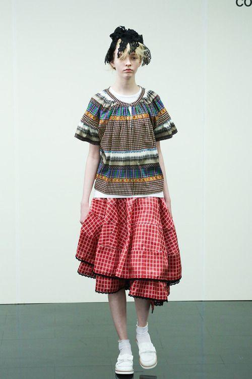 [No.55/87] tricot COMME des GARÇONS 2014春夏コレクション | Fashionsnap.com
