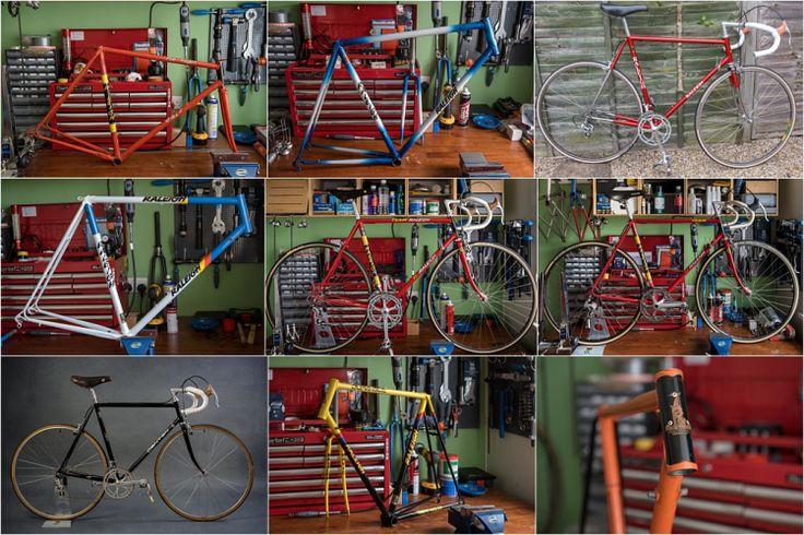 My TI-Raleigh SBDU Ilkeston Tubing Collection