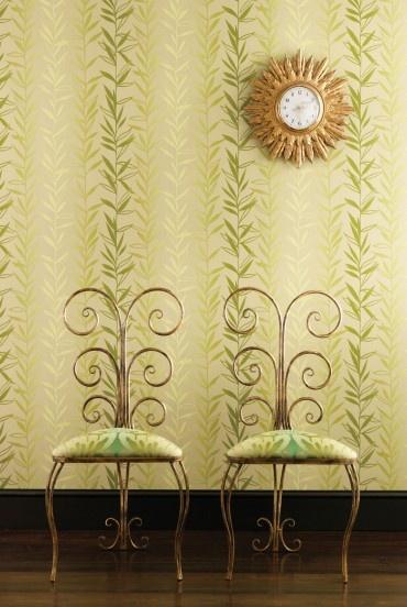 papier peint rayures Nina Campbell Salix