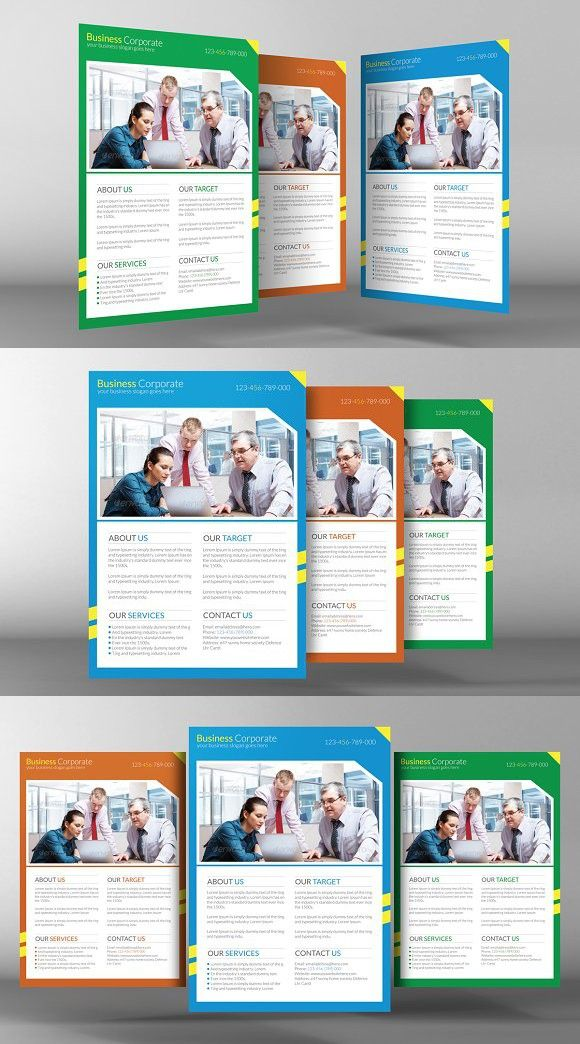 Business Flyers Template flayer Pinterest Business flyer
