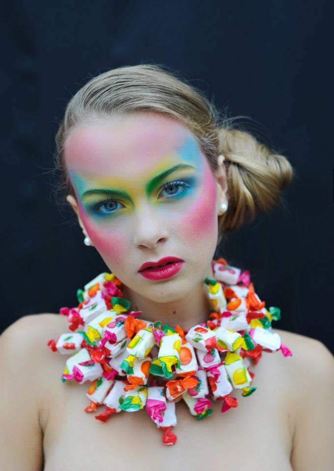 Colors & candies make-up mua: Shahbana Khan photo: Adelaide d'Hoop Photography